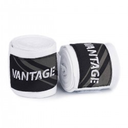 Vantage Combat Boxbandagen White 250cm