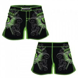 Abverkauf Booster MMA Pro 15 Shield Green Fight Shorts