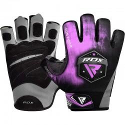 RDX Gym Handschuh Sublimation F12 lila