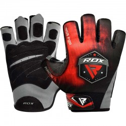 RDX Gym Handschuh Sublimation F12 rot