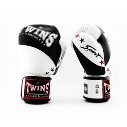 Twins BGVL 10 Boxhandschuhe Black White