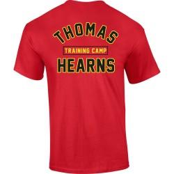 KRONK Boxing Thomas Hearns Training Camp T Shirt Red