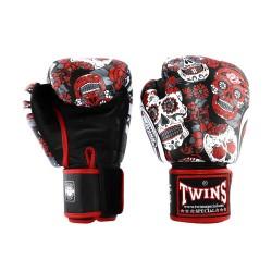 Twins Fantasy 4 Boxhandschuhe Skull Red