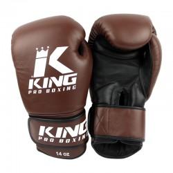 King Pro Boxing KPB BG 4 Boxhandschuhe Leder Retro
