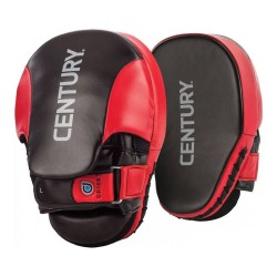 Century Drive Hand Mitts Curved Black Red