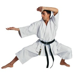 Hayashi Tenno WKF Karateanzug Weiss