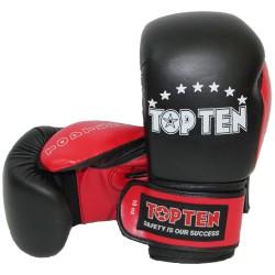 Top Ten Boxhandschuhe Schwarz Rot