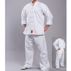 Phoenix Shaolin Kung Fu Anzug Weiss