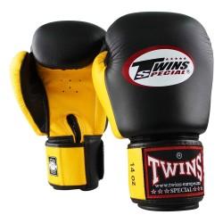 Twins BGVL 3 Boxhandschuhe Black Yellow