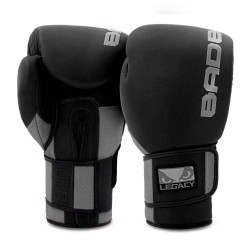 Bad Boy Legacy Prime Boxing Glove Black Grey