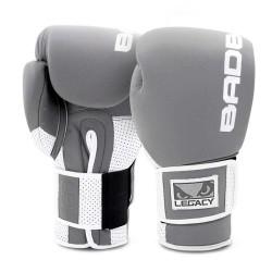 Bad Boy Legacy Prime Boxing Glove Grey White