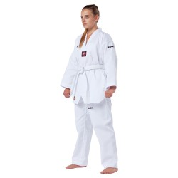 Kwon Victory TKD Anzug Weiss Revers weiss