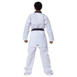 Kwon Victory TKD Anzug Weiss Revers schwarz