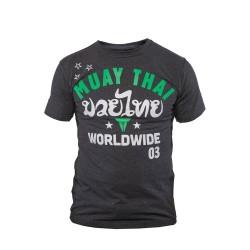 Throwdown Stripes T-Shirt Charcoal