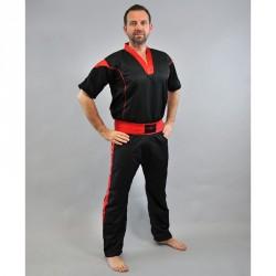 Phoenix Pointfighting Anzug Schwarz Rot