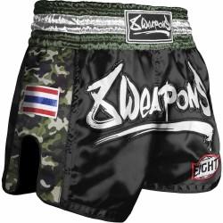 8WEAPONS Muay Thai Short Ultra Camo Dark Green