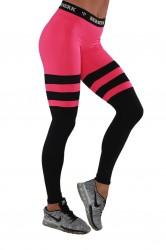 Berserk Leggings Intensity schwarz pink