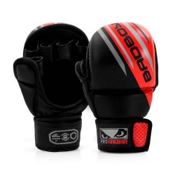 Bad Boy Pro Series Advanced MMA Safety Gloves Black Red