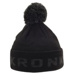 Kronk Detroit Bobble Hat Black Charcoal