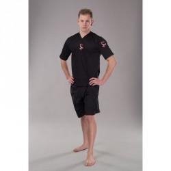 Phoenix BF Kickbox Shirt Schwarz Elastic Mesh