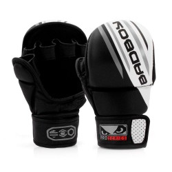 Abverkauf Bad Boy Pro Series Advanced MMA Safety Gloves Black White