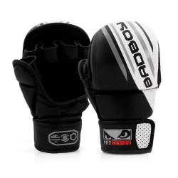 Bad Boy Pro Series Advanced MMA Safety Gloves Black White