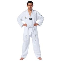 Kwon Fightlite TKD Anzug weiss Revers weiss
