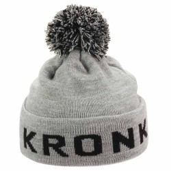 Kronk Detroit Bobble Hat Grey Black