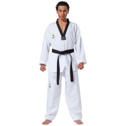 Kwon Fightlite TKD Anzug weiss Revers schwarz