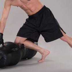 Phoenix MMA Shorts Weit Schwarz