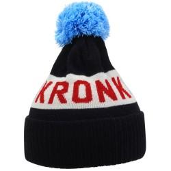 Kronk Detroit Snowflake Bobble Hat Navy