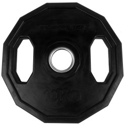 Tunturi Olympic Gummi Gewichtsscheibe 10.0kg