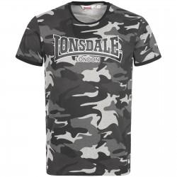 Lonsdale Men T-Shirt COBBETT Camo grau