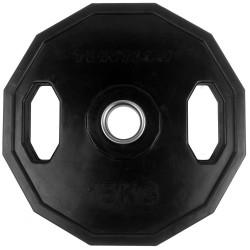 Tunturi Olympic Gummi Gewichtsscheibe 15.0kg