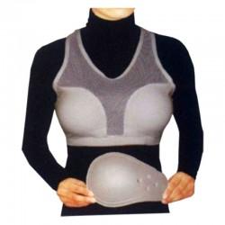 C Guard Damen Brustschutz Weiss