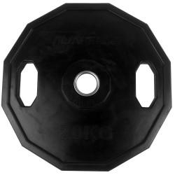 Tunturi Olympic Gummi Gewichtsscheibe 20.0kg