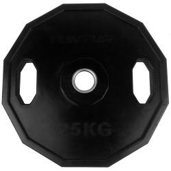 Tunturi Olympic Gummi Gewichtsscheibe 25.0kg