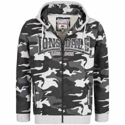 Lonsdale NewStead Zip-Hoody Camo Grey