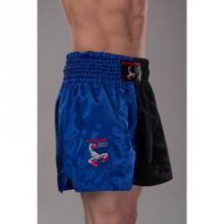 Phoenix Budos Finest Thai Shorts Schwarz Blau
