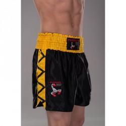 Phoenix Budos Finest Thai Shorts Schwarz Gelb