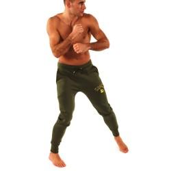 Kronk Applique Gloves Jogginghose Military Green