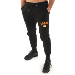 Kronk Applique Gloves Jogginghose Black