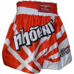 Phoenix Thai Shorts Fighter Rot Weiss