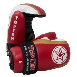 Top Ten Star Stripes Point Fighter Rot Gold