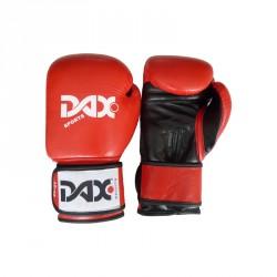 DAX Boxhandschuhe Comfort rot Schwarz Leder