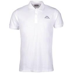 Kappa Polo Shirt PELEOT weiss