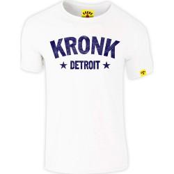 Kronk Detroit Stars Slimfit T-Shirt White