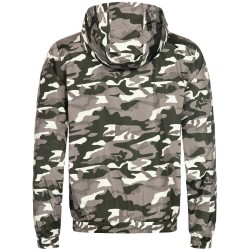 Lonsdale Counton Windbreaker Camo Grey