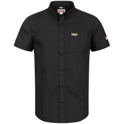Lonsdale Plain Shirt Black Yellow