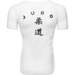 Green Hill Judo Rashguard SS Weiss